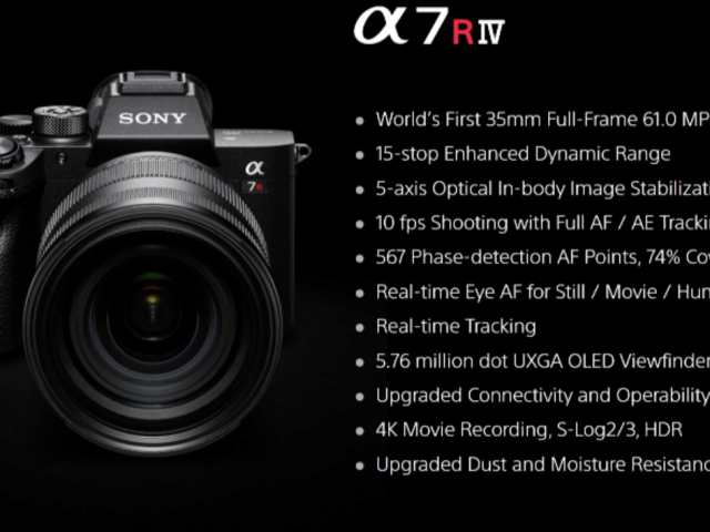 Sony A7RIV announced in New York Post by Cedric Paquet (www.cedricpaquet.com)